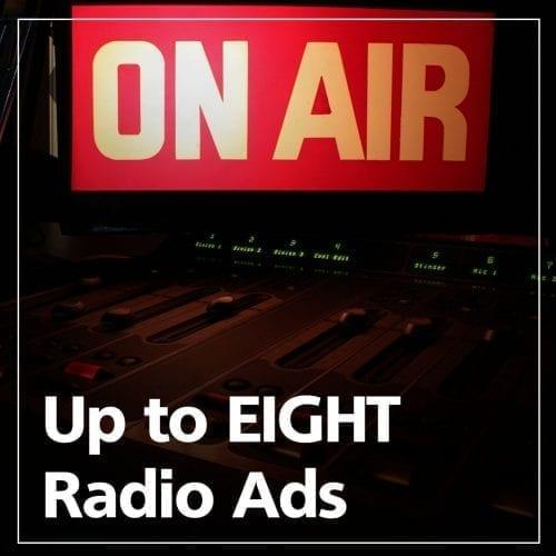 8 Radio Ads Graphic