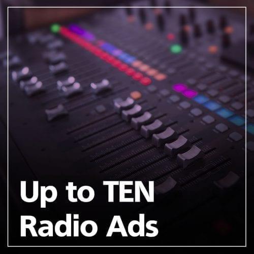 10 Radio Ads with Killerspots