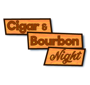 Cigar & Bourbon Night Logo