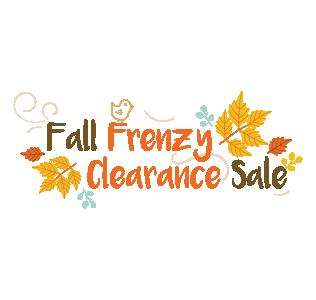 Fall Frenzy Clearance Sale Logo