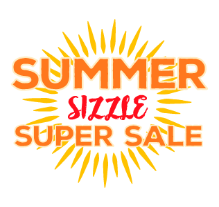 Summer Sizzle Super Sale Logo